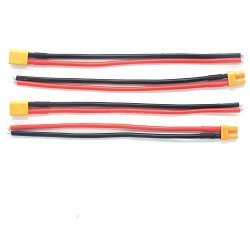 Padarsey 2 Pair XT30 Connector Female male W housing 15CM Silicon Wire 14AWG XT30 15CM 2 Pair