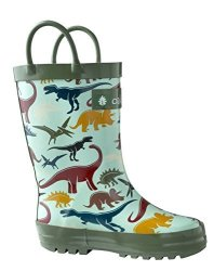 0560917c9d61f Oakiwear Oaki Kids Rubber Rain Boots With Easy-on Handles Earthy Dino 1Y Us  Little Kid | R1370.00 | Sunglasses | PriceCheck SA