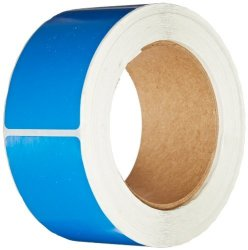 "Tape Logic DL630C Inventory Rectangle Label 3"" Length X 2"" Width Light Blue Roll Of 500"