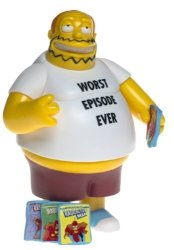 Playmates Toys, Inc. The Simpsons Series 15 Action Figure Comic Book Guy