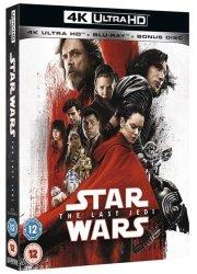 Star Wars: The Last Jedi 4K Ultra HD + Blu-ray