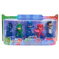 Just Play Pj Masks Collectible Figure Set 5 Pack Styles May Vary