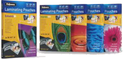 Fellowes A3 Glossy Pouch - 25pk 80 Micron
