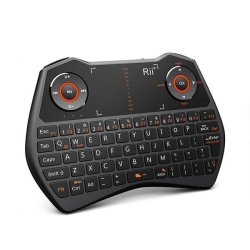 0595f343120 Rii Mini i28C Wireless Keyboard With Touchpad Black | Reviews Online ...