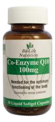 BioLife Nutrition Biolife Co-enzyme Q10 Capsules 100MG - 30 Caps
