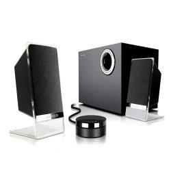 Microlab M200 Platinum Bt 2.1 Speaker - Black