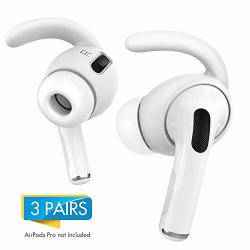 AHASTYLE Airpods Pro Ear Hooks Added Storage Pouch Anti-slip Ear Covers Accessoriesnot Fit In The Charging Case Compatible With