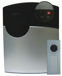 Dakota Alert, Inc. Dakota Alert 1000 Wireless Doorbell Ring Detector Stainless DC-1000