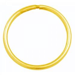 9CT GOLD 15mm Sleeper Earring