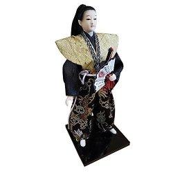 "THY TRADING 12"" Japanese Samurai Doll THY2008-12"