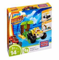Mega Bloks Blaze And The Monster Machines Building Set - Stripes Jungle Stunt