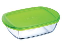 Pyrex Storage Cook & Store Rectangular Dish With Lid - 2.5L