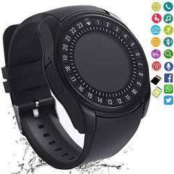 Smart Watch Bluetooth Smartwatch Touch Screen Camera Pedometer Sim Card Slot Text Call Sync Women Men Kids Phone Mate Compatible