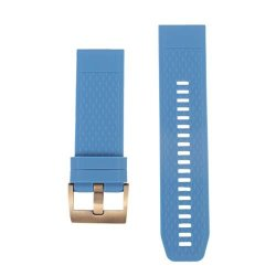 Nicerio Compatible With Garmin Fenix 5X 3 3HR Watch Band - Silicone Watchstrap Sport Watch Strap Replacement Wristband Bracelet