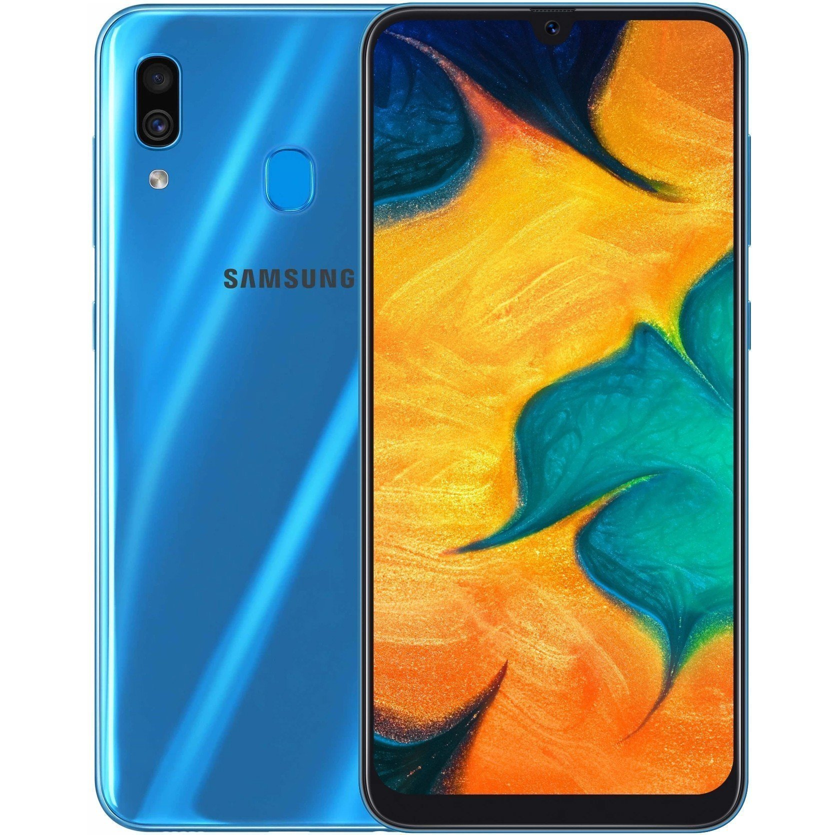 Samsung Galaxy A30 64gb Dual Sim In Blue Reviews Online Pricecheck