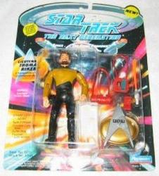 Playmates 1 X Star Trek Lieutenant Thomas Riker The Next Generation Action Figure