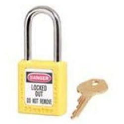 Master Lock Safety Padlock 410 Yellow