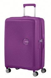American Tourister Soundbox Expandable 67CM Purple