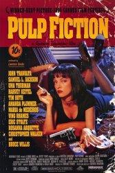 Pop Culture Graphics Pulp Fiction 1994 - 11 X 17 - Style B