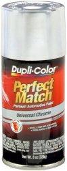 Dupli-Color EBUN02007 Universal Chrome Perfect Match Automotive Paint - 8 Oz. Aerosol