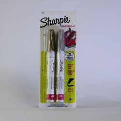 Sharpie Set of 2 Medium Oil Based Metallic Paint Markers