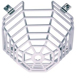Safety Technology Intl Safety Technology International Inc. STI-9605 Steel Web Stopper For MINI Smoke Detectors Surface Mount Protective Coated Steel Wire Guard