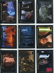 2012 Star Wars Galactic Files Series 1 Trading Cards Complete 10 Card Chase Set Classic Lines