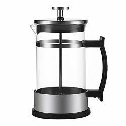 Jenify Vacuum French Press Stainless Steel Hand Coffee Pot Double Walled Insulated Coffee & Tea Brewer Pot & Maker 600ML