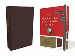 Nkjv Maxwell Leadership Bible Third Edition Premium Bonded Leather Burgundy Comfort Print Leather Fine Binding Special Edition