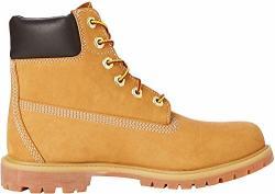 Timberland Women's 6 Premium Waterproof Boot Wheat Nubuck 9.5 W Us