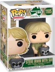 Pop Television: Australia Zoo - Steve Irwin With Sui Vinyl Figure