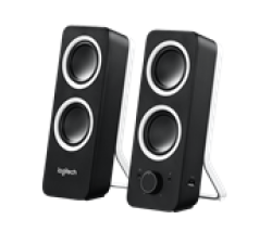 Logitech Z200 Speakers - Black