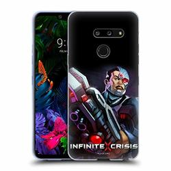 Official Infinite Crisis Cyborg Characters Soft Gel Case Compatible For LG G8 Thinq