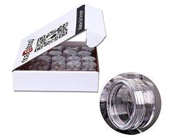 b20de9fbc1e4 Niceeshop Tm 50 Pieces Travel Cosmetic Sample Containers 5 Gram Plastic Pot  Jars | R | Cosmetics | PriceCheck SA