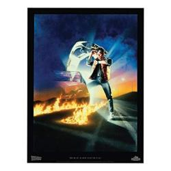 Factory Entertainment Back To The Future Part I Lithograph