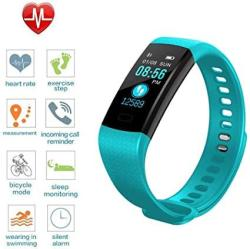 USA Tpe Fitness Tracker With Blood Pressure Monitor Colorful Screen Activity Tracker Watch IP67 Waterproof Smart Fitness Band With Step Counter Calorie