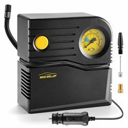 Small Windgallop Portable Air Compressor Tire Inflator With Pressure Gauge Car Tire Pump 12V Dc Tire Compressor Electric Air Pum
