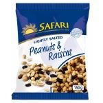 Safari - Peanuts & Raisins Lightly Salted 150G