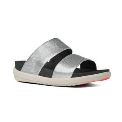 4bb912046541 Fitflop Loosh Slide in Silver
