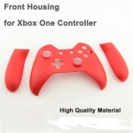 XBOX One Controller Front Faceplate With Side Rail Series Matt Red