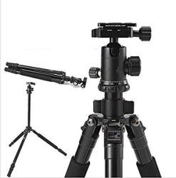 Gowe Professional Portable Dslr Camera Tripod G10KX Ball Head Photography Aluminum Tripod Stand + Carrying Bag Load 10KG