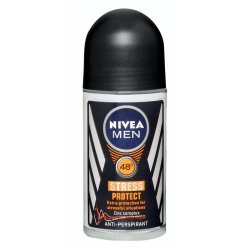 Nivea - Mens Anti-perspirant Roll-on Stress Protect 50ML