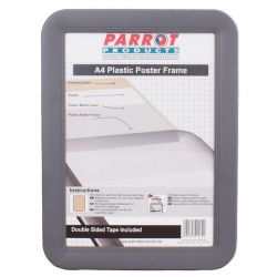 Parrot Products 31mm A4 Plastic Slide-in Poster Frame