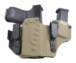 Fierce Defender Iwb Kydex Holster Glock 19 23 32 W olight Pl-mini Valkyrie  +1 Series W claw -made In Usa- Gen 5 Compatible Flat   R2738 00   Hunting