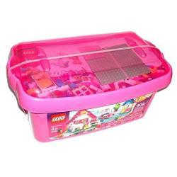 Lego Pink Brick Box Large 5560