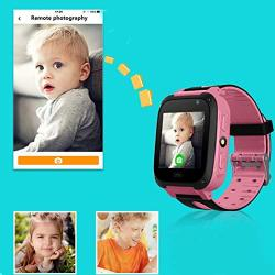 Kids Smart Watch Waterproof Wrist Watch Phone Children Tracker Sos Call With Camera