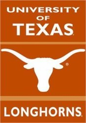 Texas Longhorns Banner Polyester 28 In. X 40 In.