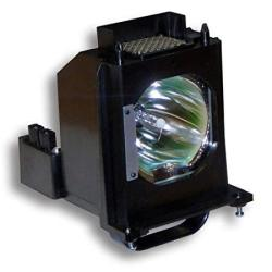 Mitsubishi WD-60735 Replacement Rptv Lamp Bulb With Housing Compatible Lamp