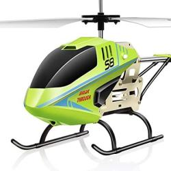 Aored 3.5 Channel Resistance To Falling Rc Metal Outdoor Large Outdoor Helicopter - Hobby Radio Plane Toy For Indoor Outdoor Toy Easy To Learn