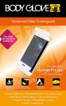 Body Glove Tempered Glass Screen Protector for Huawei P10 Lite in Clear & White